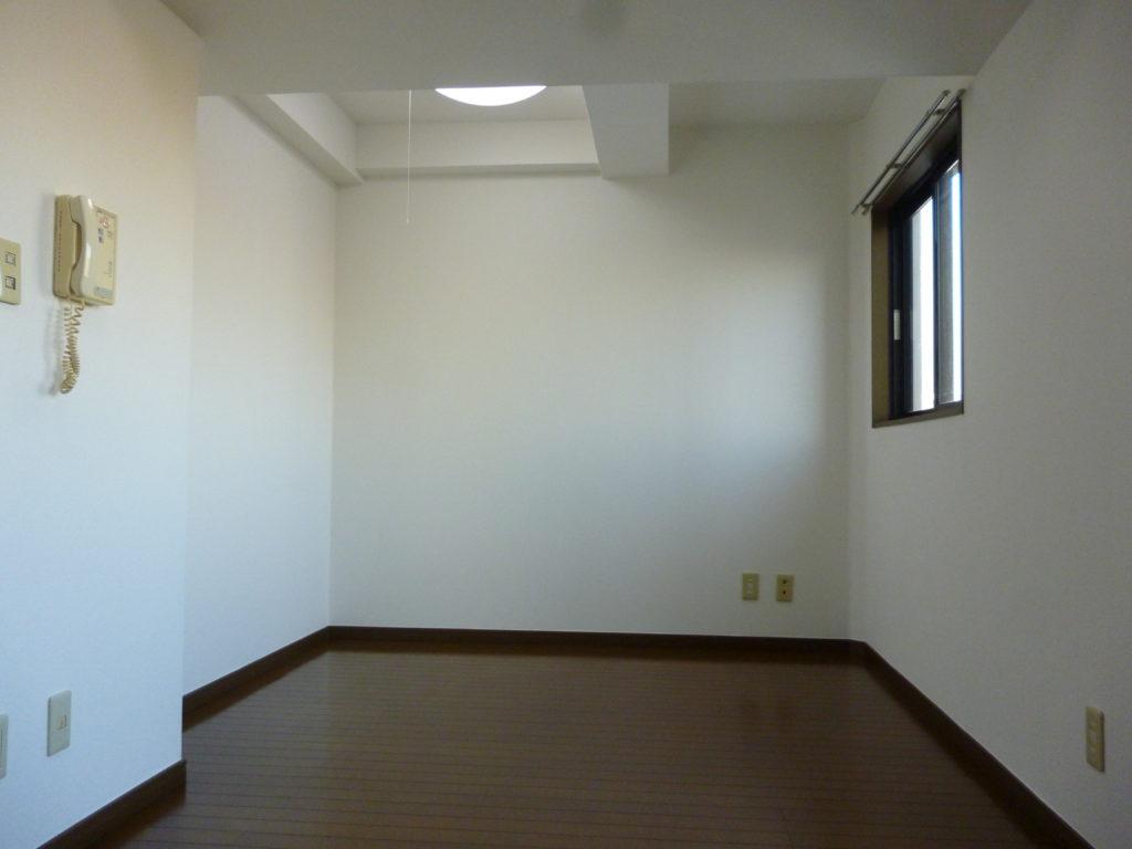 ガーラ蒲田の室内です。 東向きの明るいお部屋です。
