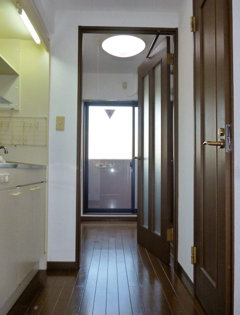 ガーラ蒲田の室内。 システムキッチン、バス・トイレ別です。