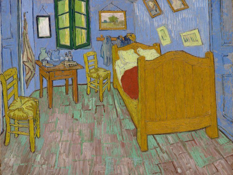 ゴッホの「アルルの寝室」です。