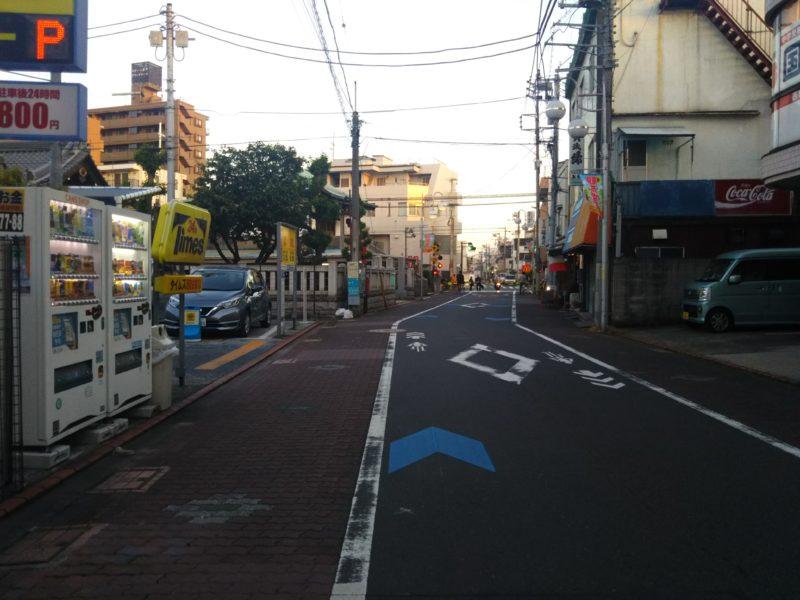 観音堂商店会の通りです。