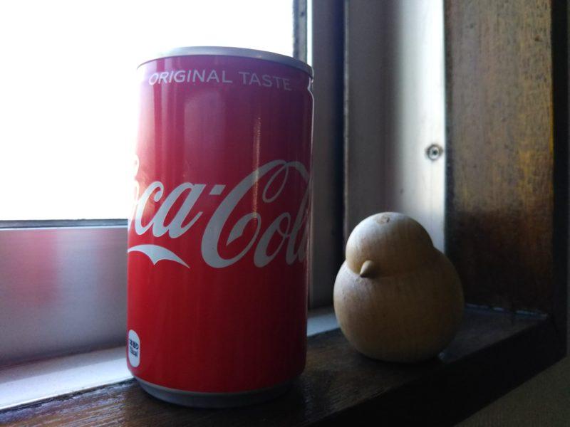 コカ・コーラの160ml缶です。