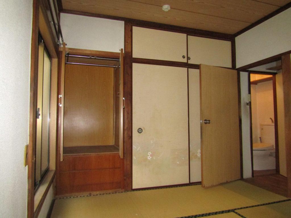 萩中1丁目DIY貸家の1階和室です。