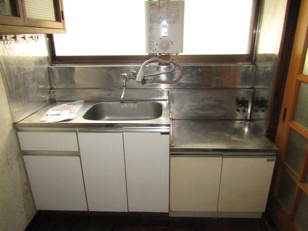 萩中1丁目DIY貸家のキッチンです。
