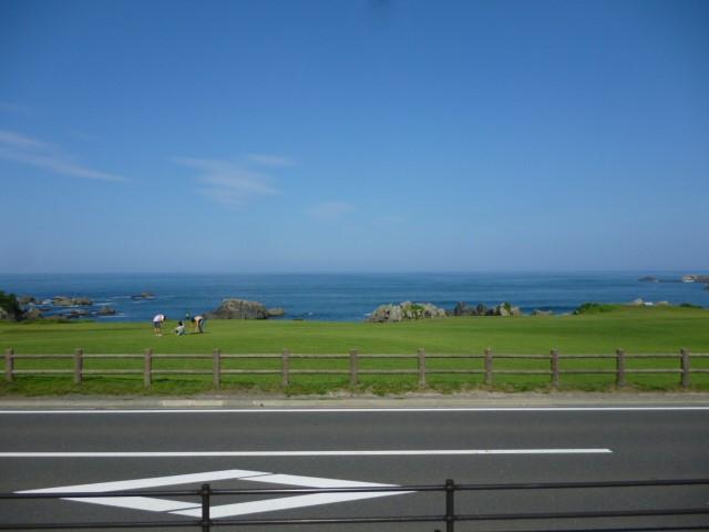 青森県の海です。
