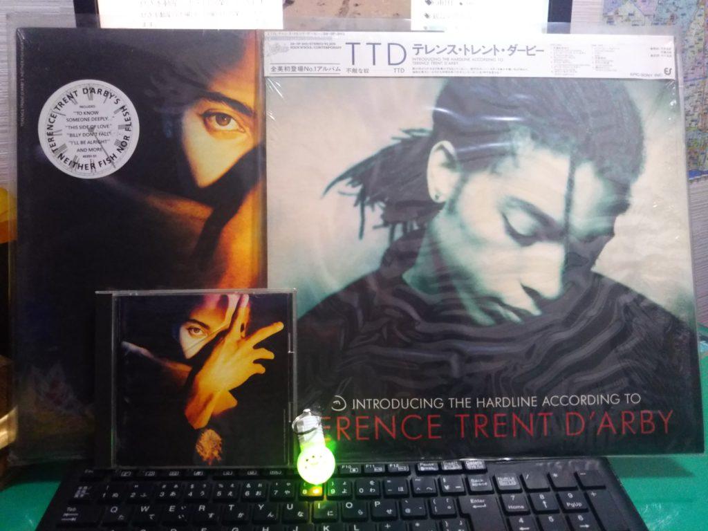 テレンス・トレント・ダービー(サナンダ・マイトレイヤ)のLPとCDです。