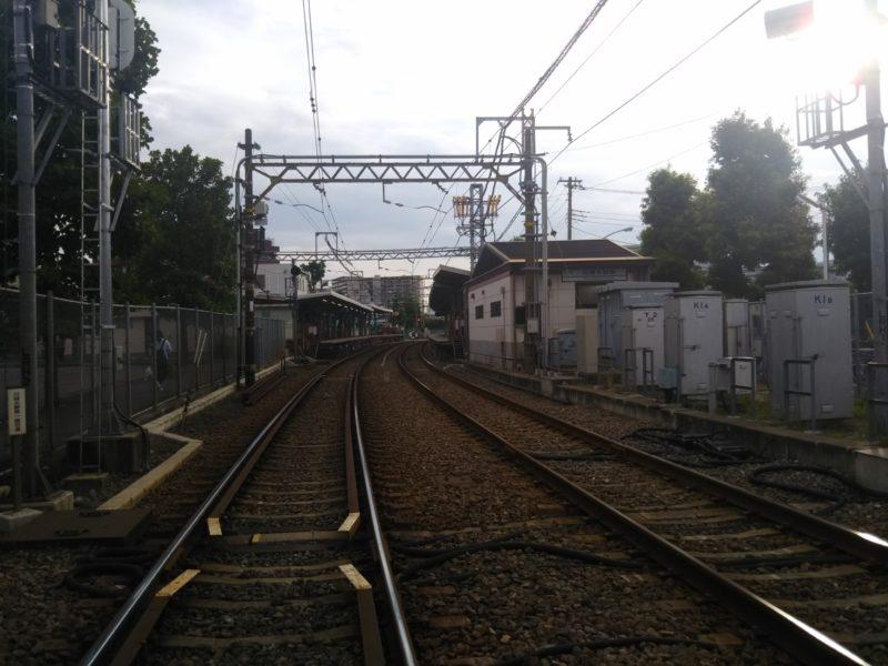 京急大師線のレールです。