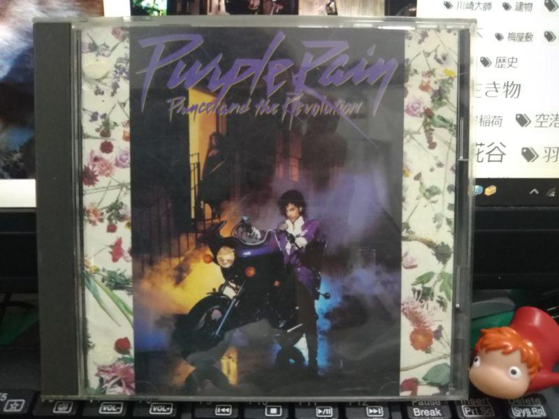 プリンス主演の映画「パープルレイン」のCDです。