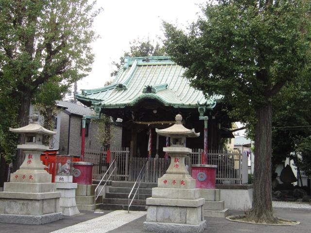 大田区大森南の浦守稲荷神社です。