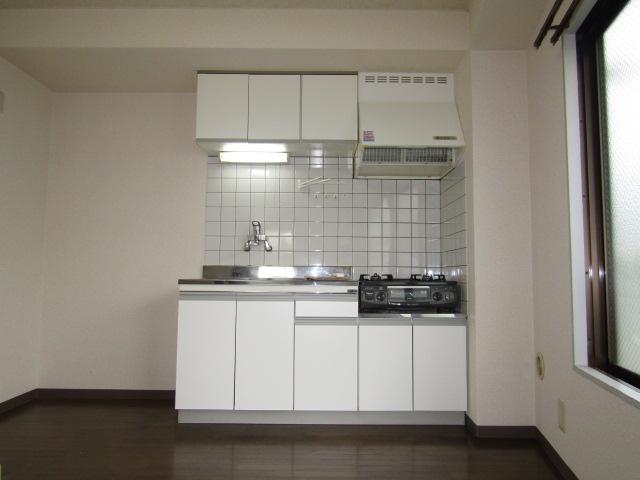 ハイツ佐藤のキッチンです。