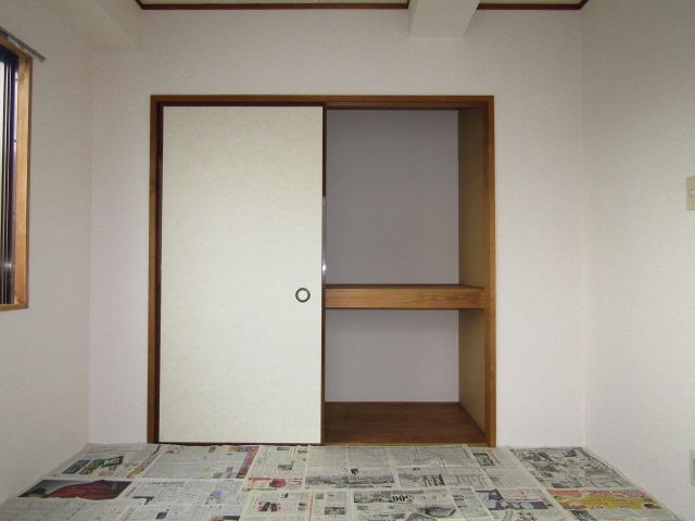 ハイツ佐藤の和室の押入です。