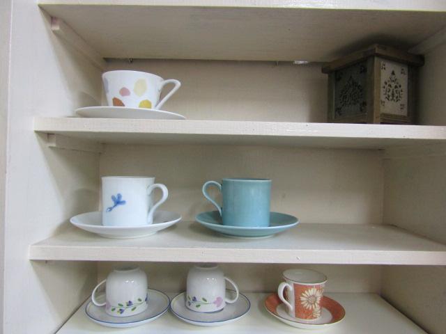 ひらけごま文庫のコーヒーカップです。