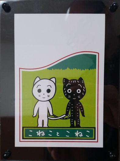 東君平さんの仔猫のイラストの絵葉書です。