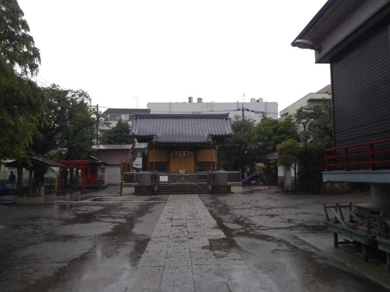 西糀谷3丁目の浜竹天祖神社です。