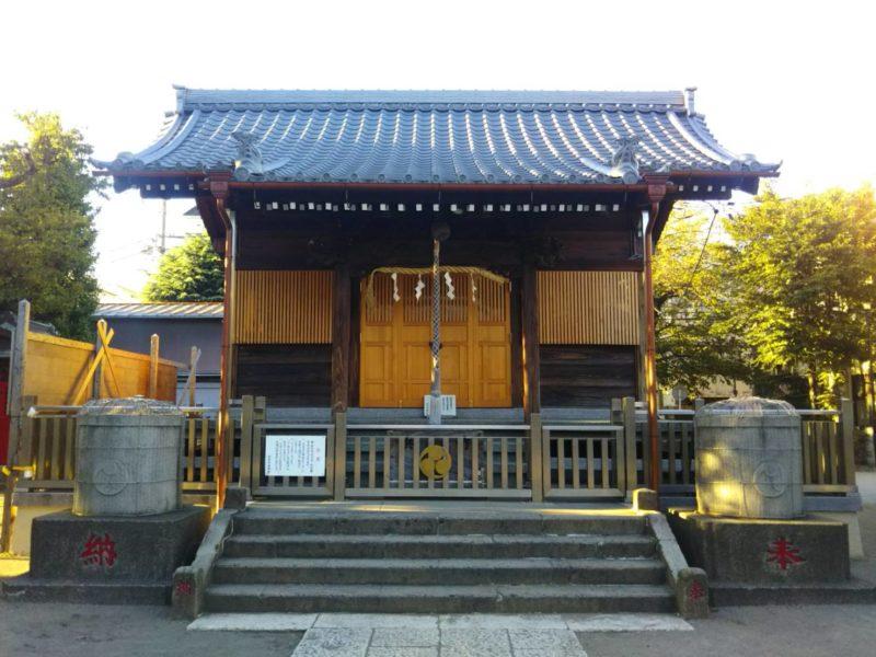 浜竹天祖神社の本殿です。