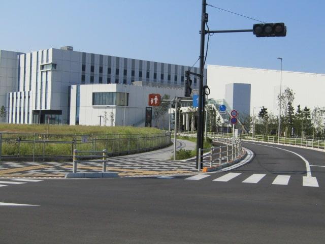羽田空港の天空橋駅近くです。