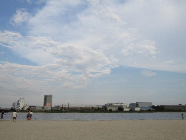 大森ふるさとの浜辺公園です。