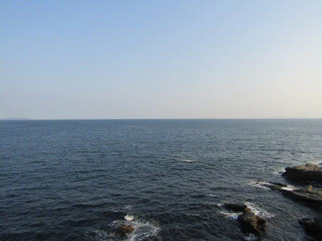 水平線です。