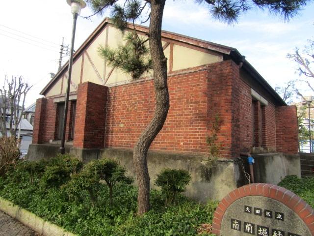 大田区東糀谷の南前堀排水場跡です。