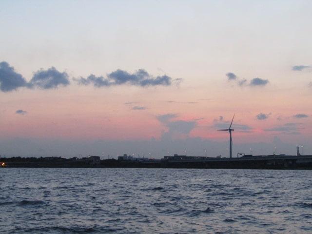 川崎港の風景です。