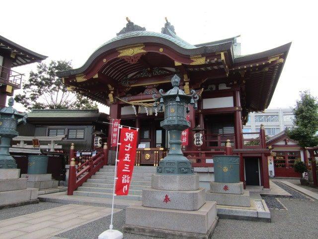 羽田神社の本殿です。
