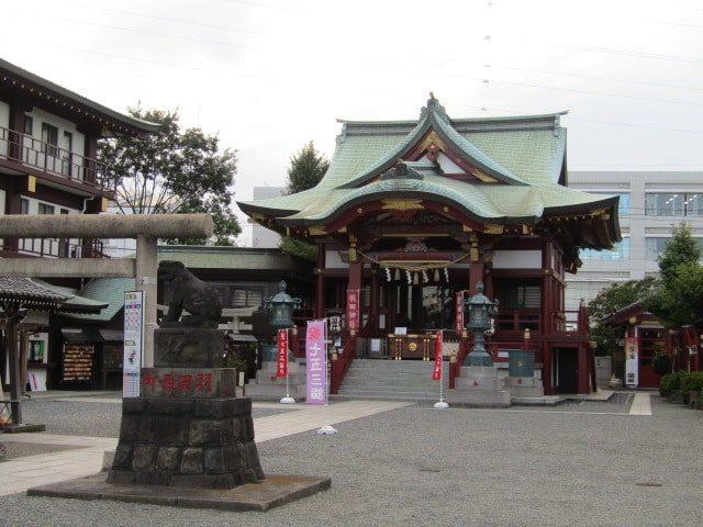 大田区本羽田のの羽田神社です。