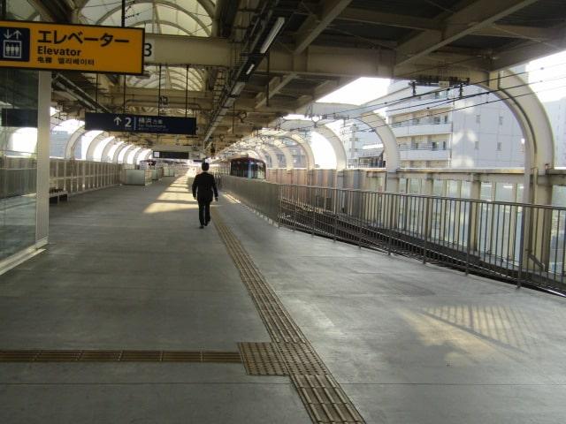 京急蒲田駅の2番ホームです。