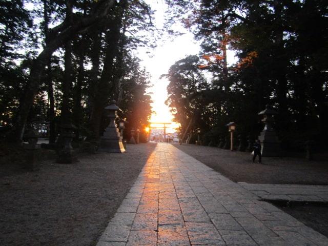 神社の参道です。
