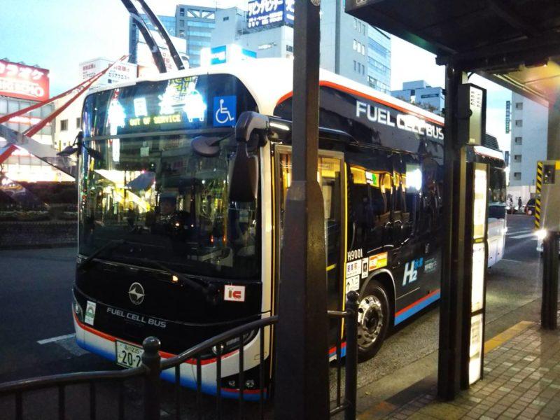 京急の燃料電池バスのSORAです。