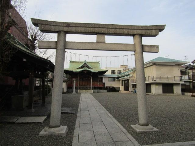 西六郷の糀谷神社です。