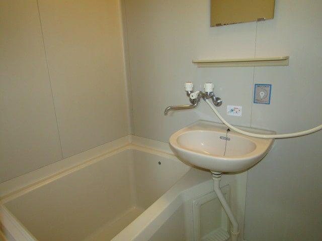 グリーンプラザのバスルームです。