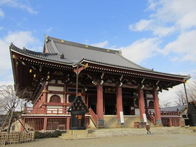 池上本門寺の本堂です。
