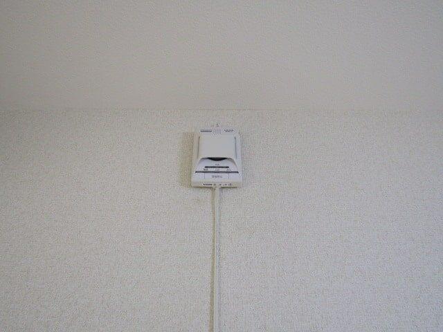 グリーンプラザの火災警報器です。
