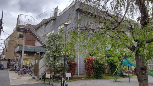 大田区立浜竹図書館です。