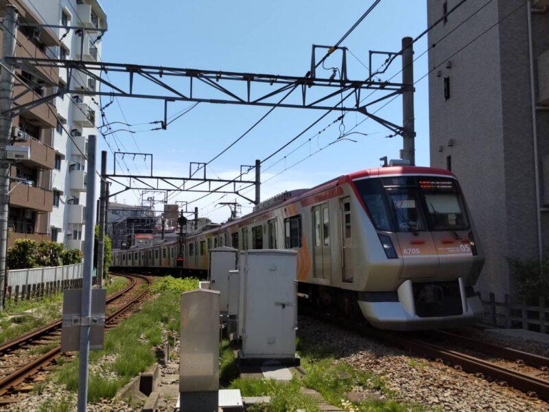 東急大井町線です。