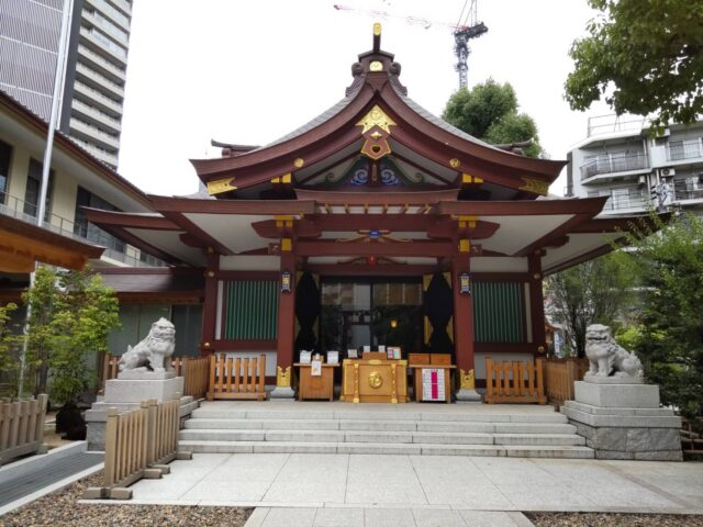 蒲田八幡神社の社殿です。